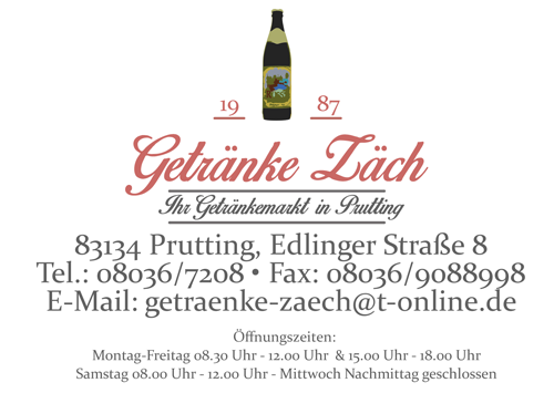 Getränke Zäch - Prutting